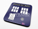 Doctor Who Tardis cork backed drinks mat / coaster   (py)